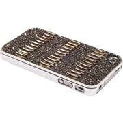 Alexander Kalifano iPhone Hard Case; Black Diamond and Metallic Light Gold