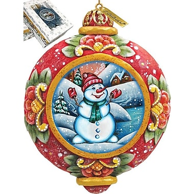 G Debrekht Snowman Ornament