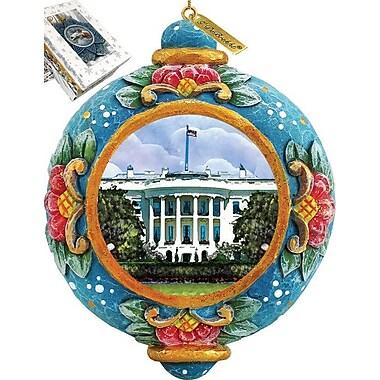 G Debrekht White House Ornament