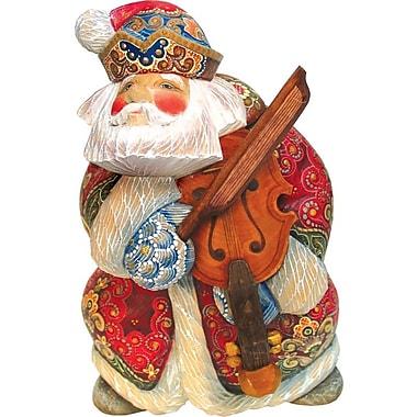 G Debrekht Derevo Musician Violin Santa