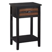 Gallerie Decor Adirondack End Table; Espresso