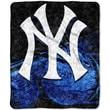 Northwest Co. MLB New York Yankees Sherpa Throw