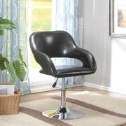 InRoom Designs Swivel Bar Stools ; Black