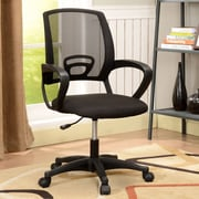 InRoom Designs Mid-Back Mesh Office Chair; Black