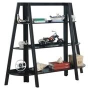 InRoom Designs 43'' Bookcase; Black