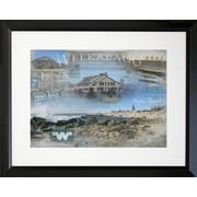 Graffitee Studios Rhode Island End of Pond - Westerly Framed Photographic Print