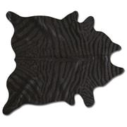 Natural Rugs Togo Black/Black Zebra Rug