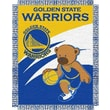 Northwest Co. NBA Baby Triple Woven Jacquard Throw; Golden State Warriors
