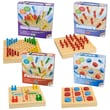 Intex Summer Travel Wooden Board Game Set