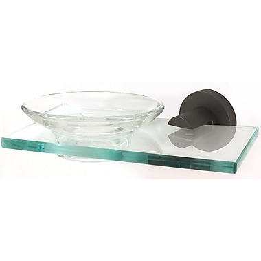 Alno Contemporary I Soap Dish; Bronze