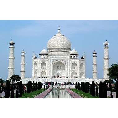 iCanvas Taj Mahal Photographic Print on Wrapped Canvas; 8'' H x 12'' W x 0.75'' D