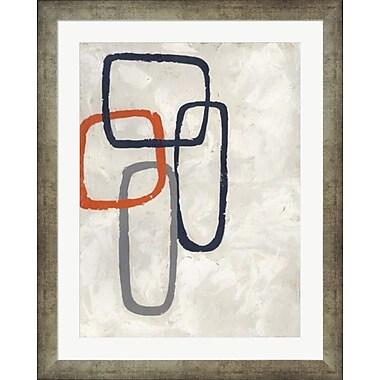Evive Designs Capacity II by Chariklia Zarris Framed Painting Print