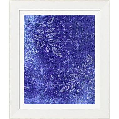 Evive Designs Japanese Paper Floral by Evie Empire Framed Graphic Art