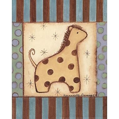 Evive Designs Baby Giraffe Paper Print
