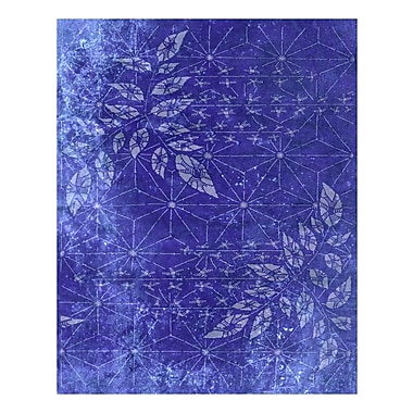 Evive Designs Japanese Paper Floral by Evie Alessandria Graphic Art