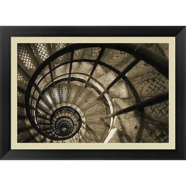 Evive Designs Spiral Staircase in Arc de Triomphe by Christian Peacock Framed Photographic Print