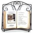 Fetco Home Decor Alda Cookbook Holder - Tuscan Bronze