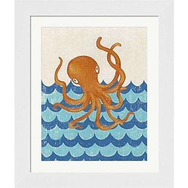 Evive Designs Truman's Voyage II by Chariklia Zarris Framed Painting Print
