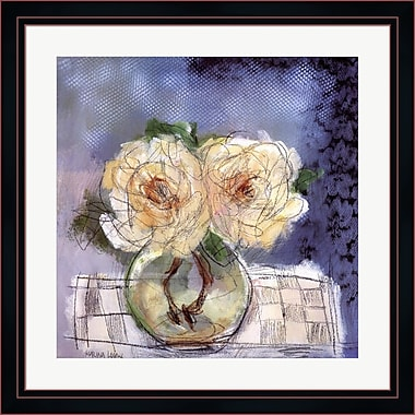 Evive Designs Roses II by Marina Louw Framed Painting Print