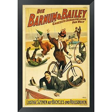 Evive Designs Barnum and Bailey Framed Vintage Advertisement