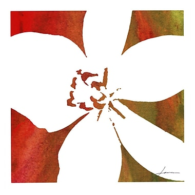 Evive Designs Peace Flowers II by James Burghardt Painting Print