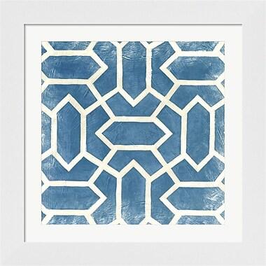 Evive Designs Small Modern Symmetry V by Chariklia Zarris Framed Graphic Art
