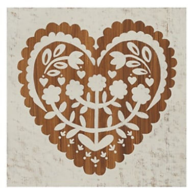 Evive Designs Country Woodcut IV Paper Print