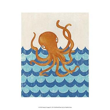 Evive Designs Truman's Voyage II by Chariklia Zarris Painting Print