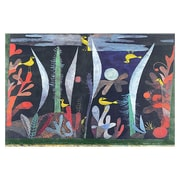 iCanvas 'Landscape w/ Yellow Birds' by Paul Klee Painting Print on Canvas; 40'' H x 60'' W x 1.5'' D