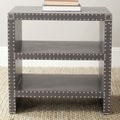 Safavieh Lacey End Table; Grey