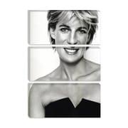 iCanvas Political 'Princess Diana Portrait' Photographic Print on Canvas; 26'' H x 18'' W x 1.5'' D
