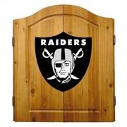 Imperial NFL Team Logo Complete Dart Cabinet Set; Oakland Raiders