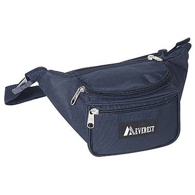 Everest 11.5'' Signature Fanny Pack; Navy