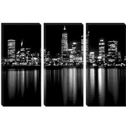 iCanvas Downtown City Photographic Print on Wrapped Canvas; 8'' H x 12'' W x 0.75'' D
