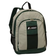 Everest Classic Backpack; Green / Gray