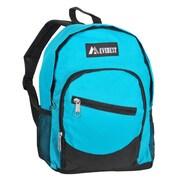 Everest Kids Slant Backpack; Turquoise