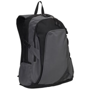 Everest Double Compartment Backpack; Dark Gray