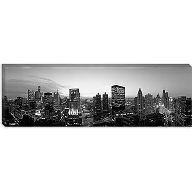 iCanvas Panoramic Chicago, Illinois Photographic Print on Canvas; 20'' H x 60'' W x 1.5'' D