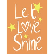 Evive Designs Let Love Shine Paper Print