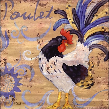 Evive Designs Royale Rooster IV by Paul Brent Painting Print