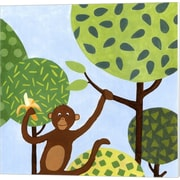 Evive Designs Jungle Fun I Canvas Art
