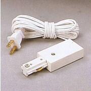 PLC Lighting 144'' Grounded Cord and Plug; Black