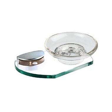 Alno Euro Soap Dish; Polished Brass