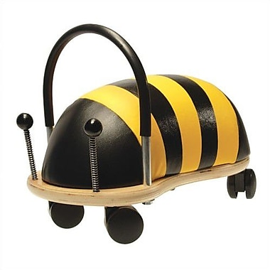 Prince Lionheart Wheely Bug Bee Push/Scoot Ride-On; Large
