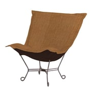 Howard Elliott Puff Scroll Coco Lounge Chair; Topaz