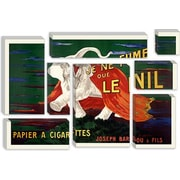 iCanvas Vintage Posters 'Papier a Cigarettes' Graphic Art on Canvas; 12'' H x 18'' W x 1.5'' D