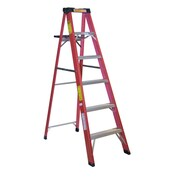 Michigan Ladder 5.2 ft Fiberglass Step Ladder w/ 225 lb. Load Capacity
