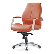 Pastel Furniture Andrew Executive Office Chair; Brown