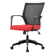Pastel Furniture Bozano Executive Office Chair; Red