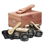Woodlore Cedar Shoe Care Valet with Starter Kit II